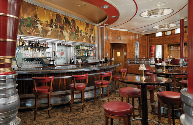 Queen Mary's Observation Bar