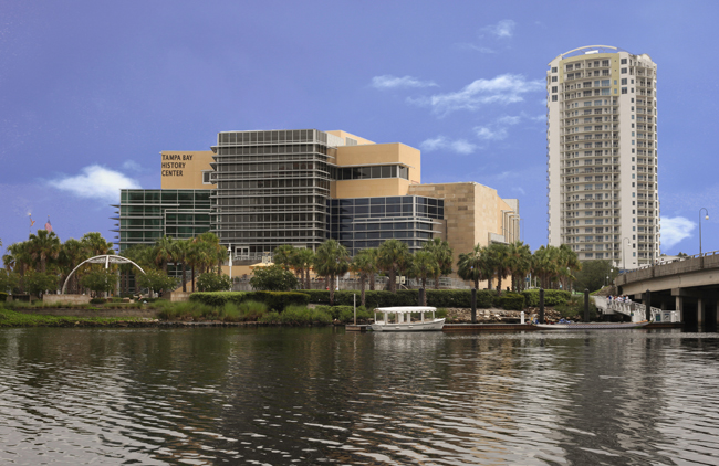 Tampa Bay History Center is a waterfront venue in Tampa Bay, Florida, courtesy Visit Tampa Bay