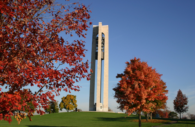 Dayton Bell Tower, courtesy Dayton CVB
